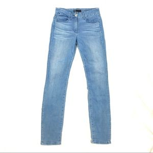 NWOT 3x1 NYC high rise skinny jeans light wash